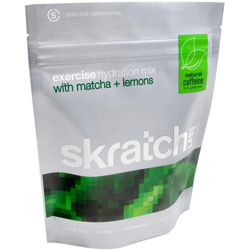 Exercise Hydration Mix with Matcha + Lemons