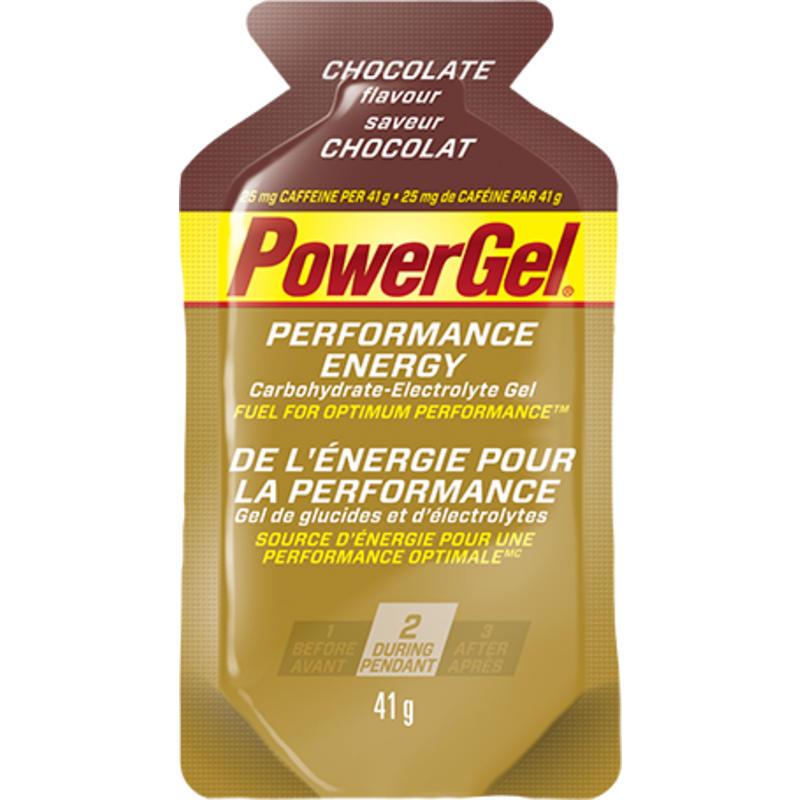 Gel énergisant saveur chocolat