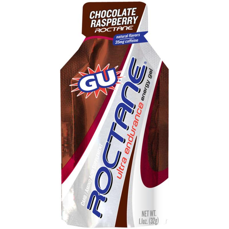 Gel énergétique Roctane chocolat et framboises
