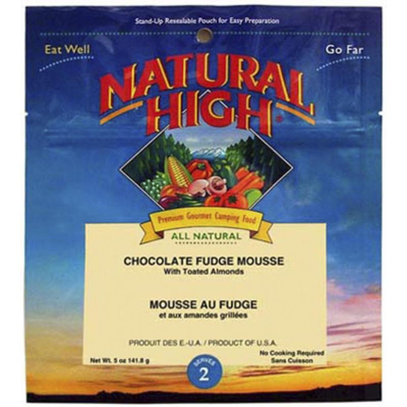 Mousse au fudge au chocolat
