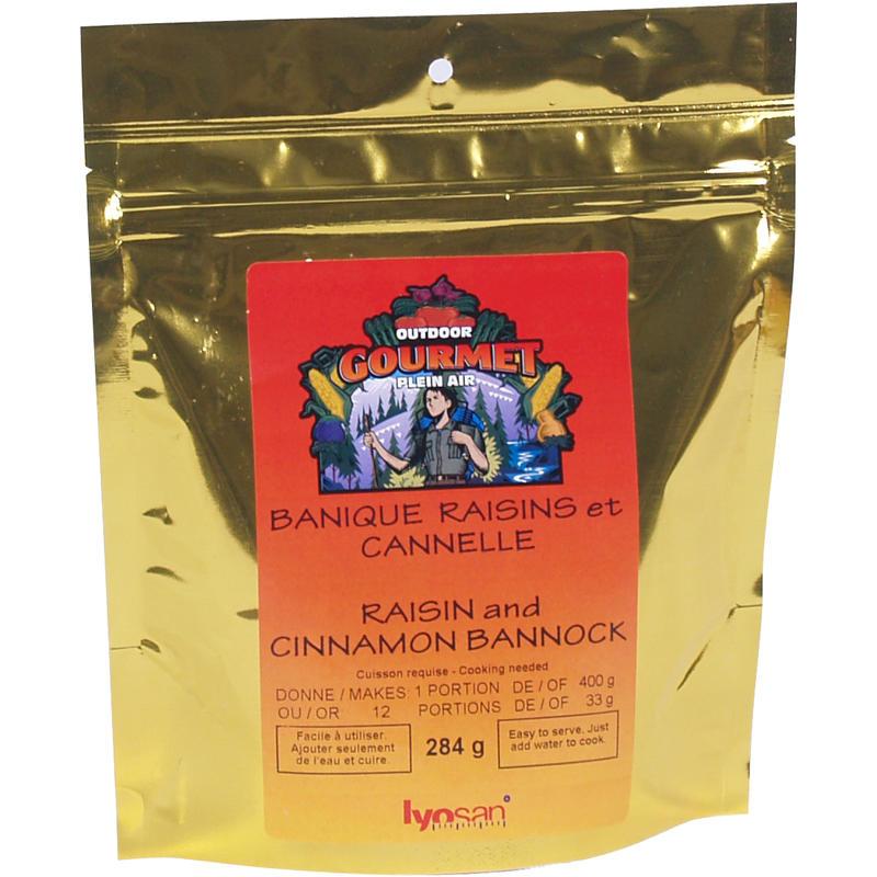 Raisin and Cinnamon Bannock