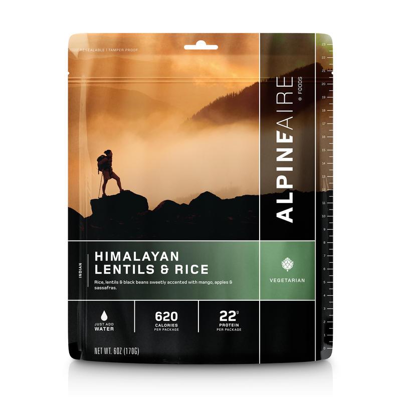 Lentilles et riz Himalayan