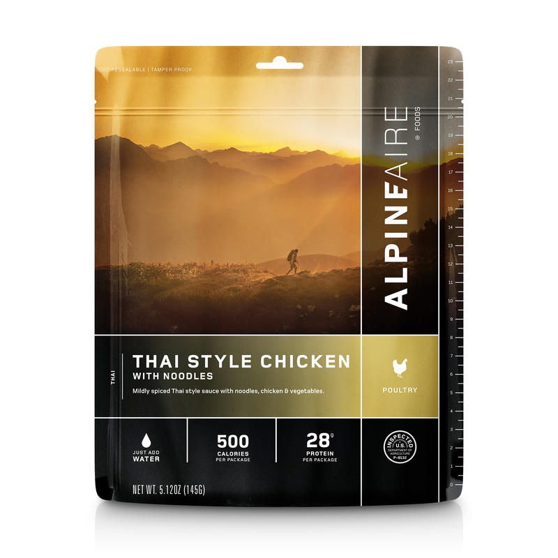 Thai Style Chicken with Noodles