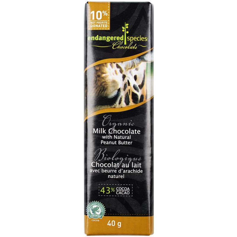 Tablette Giraffe - chocolat et beurre d