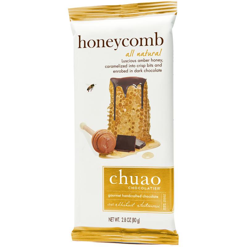 Tablette de chocolat noir Honeycomb