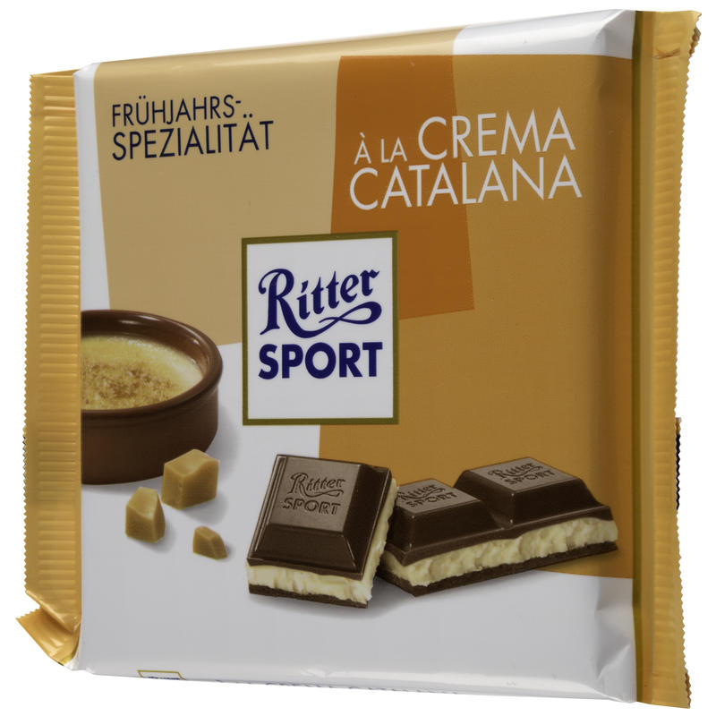 A La Crema Catalana Chocolate Bar