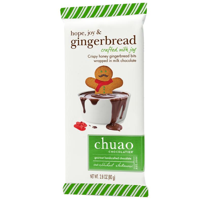 Tablette de chocolat au lait Hope,Love&Gingerbread