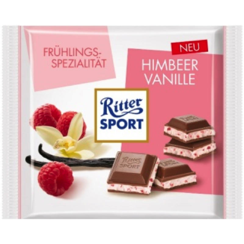 Raspberry Vanilla Chocolate Bar