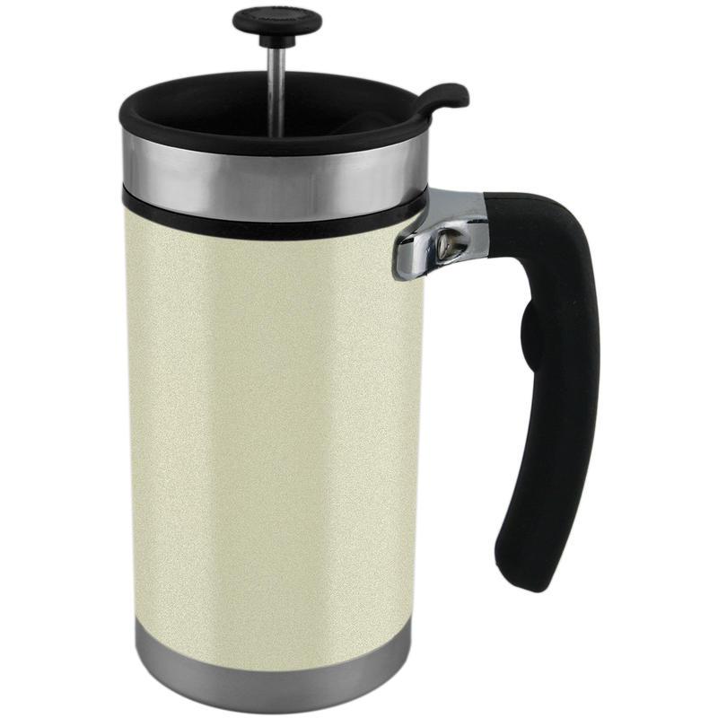 Tasse-cafetière à pression Desk Perle