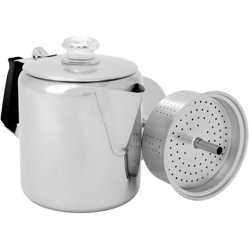 Glacier Stainless Steel 6 Cup Percolator