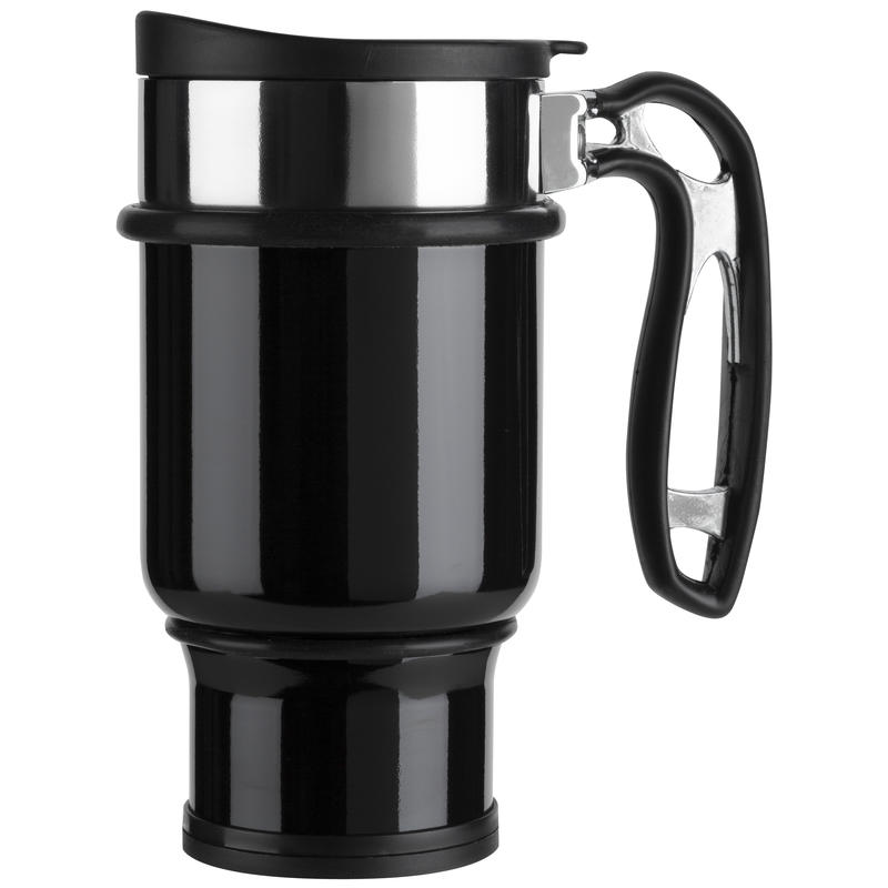 Double Shot Coffee Press Black