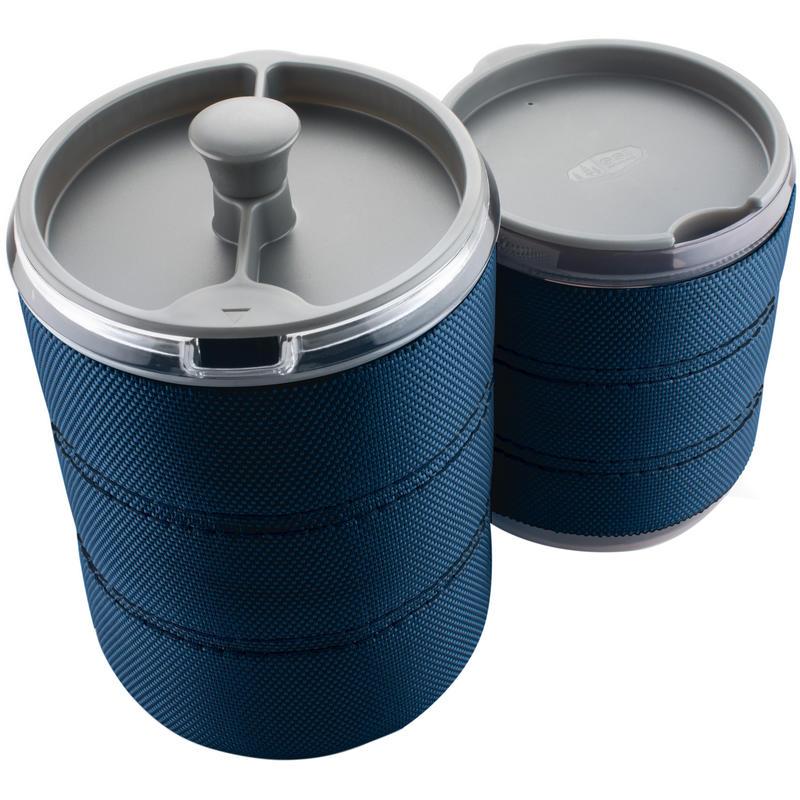 Cafetière à piston Personal Bleu