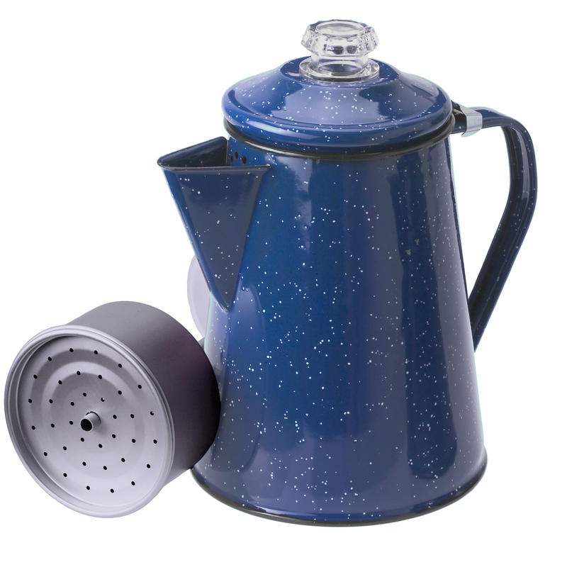 Percolateur Pioneer (8 tasses) Bleu