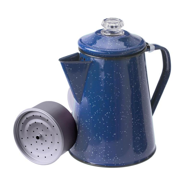 Percolateur Pioneer (12 tasses) Bleu