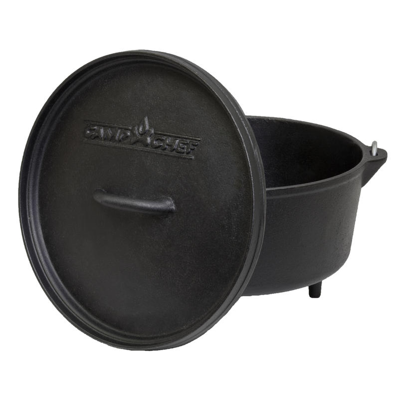 Cast Iron 12in. Dutch Oven