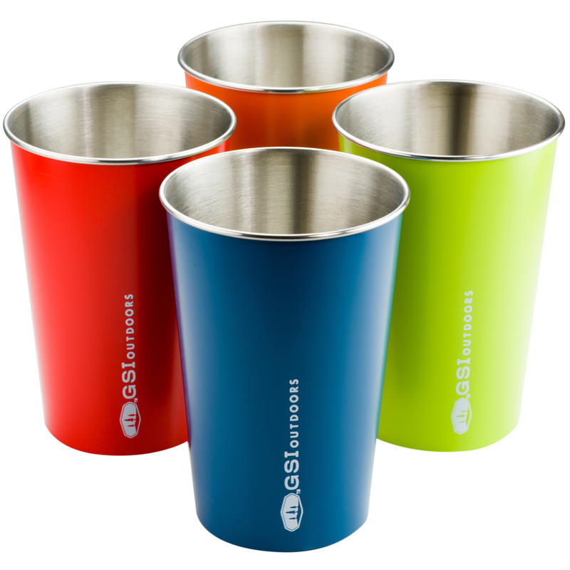 Glacier Stainless Pint Set Multi Colour