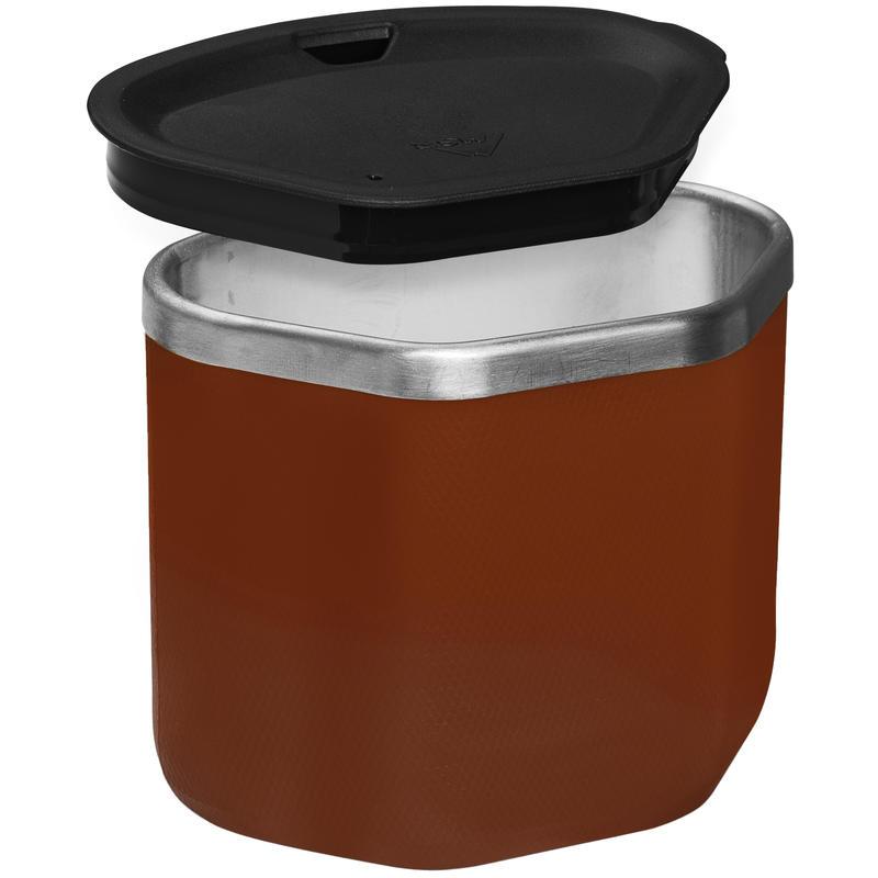 Gobelet isolant en acier inoxydable Rouge spécial
