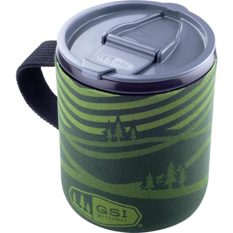 Infinity Backpacker Mug Green