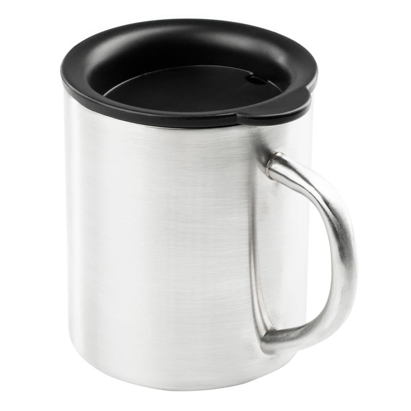 Glacier Stainless Camp Cup 300ml Brushed Stainless