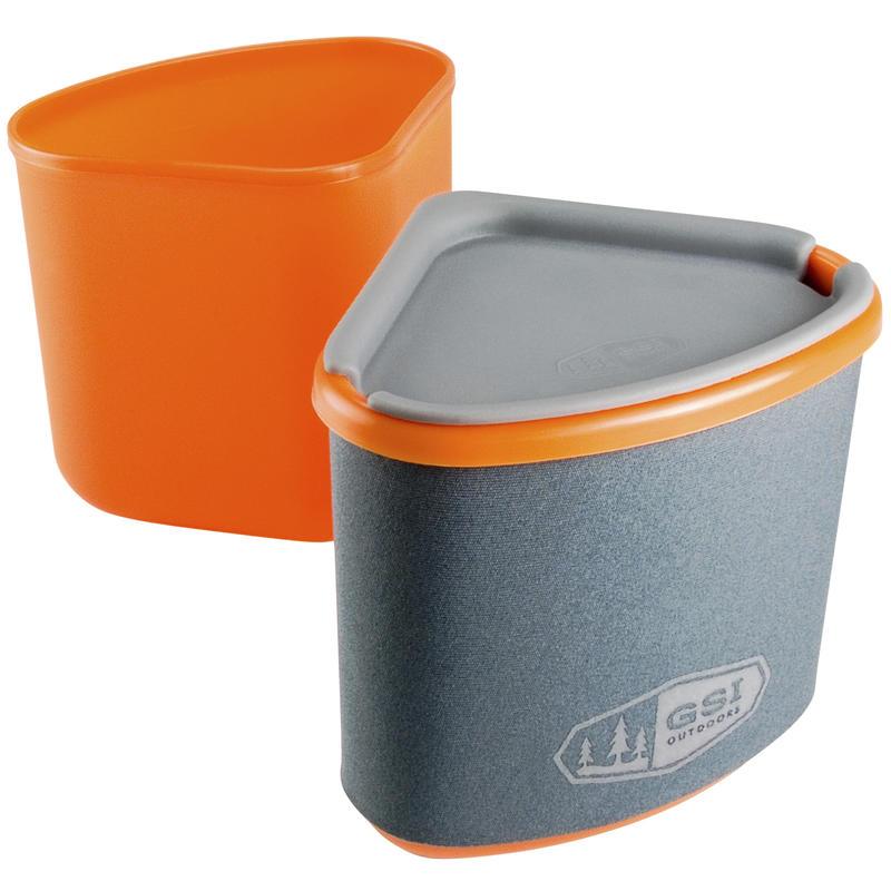 Gourmet Nesting Mug + Bowl Orange