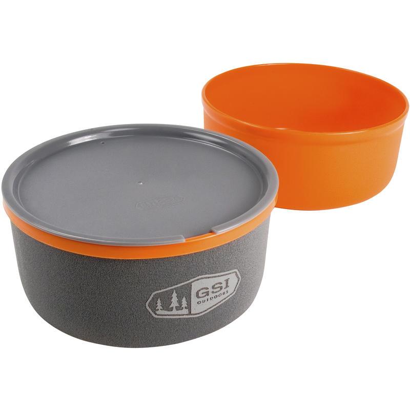 Ultralight Nesting Bowl + Mug Orange