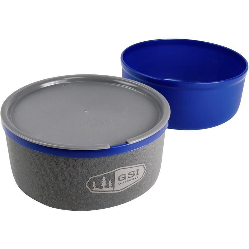 Ultralight Nesting Bowl + Mug Blue
