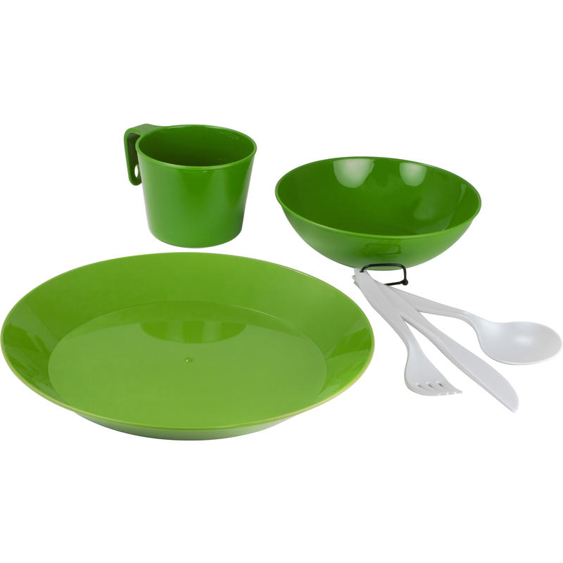 Cascadian 1 Person Table Set Green