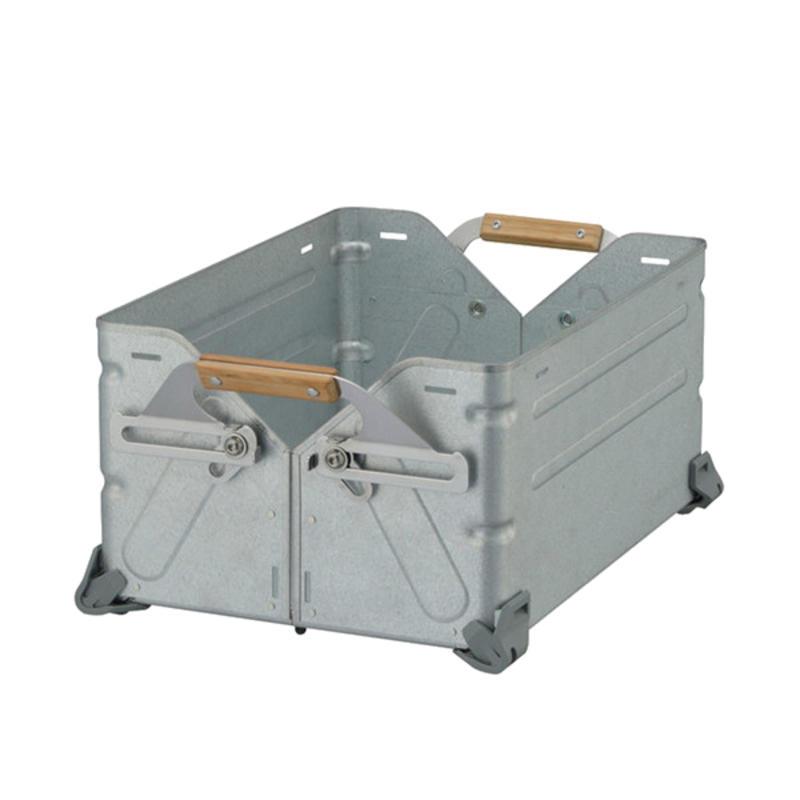 Boîte empilable en métal (Moyen)