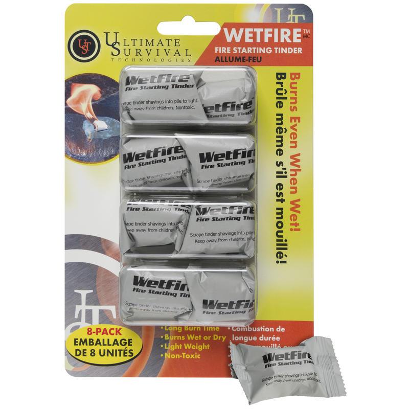 Allume-feu WetFire (paquet de 8)