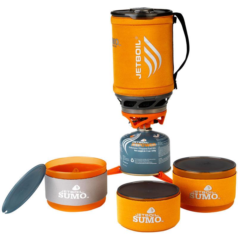 Système de cuisson Sumo Group avec bols Companion Orange