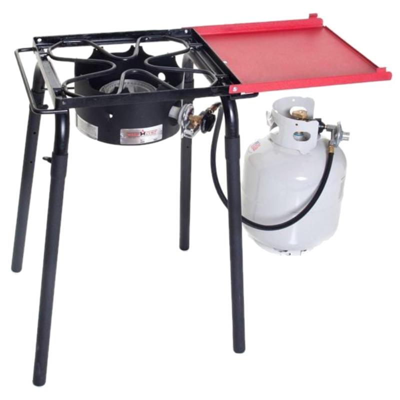 Réchaud Pro 30 à brûleur unique Noir/Rouge