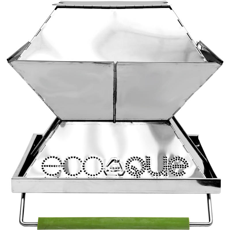 """Stainless Steel 12"""" Portable Grill"""