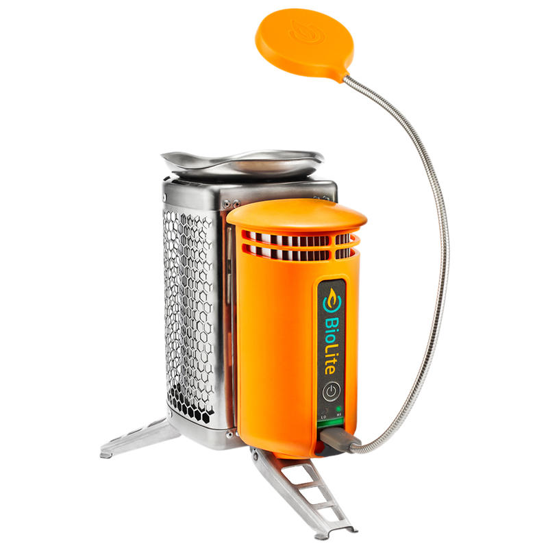 Réchaud CampStove et lampe FlexLight Orange
