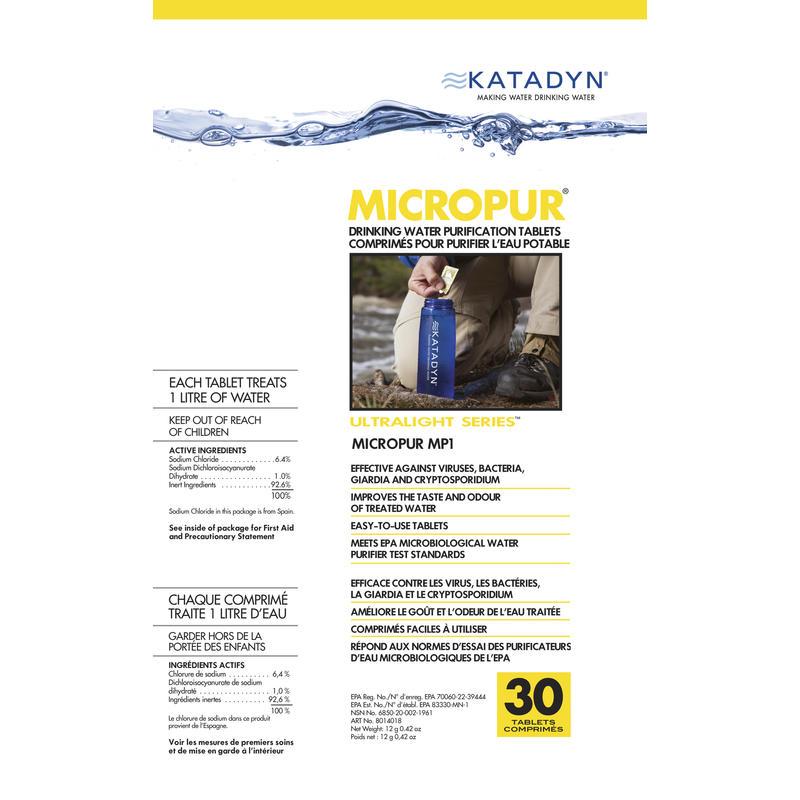 Pastilles désinfectantes MicroPur