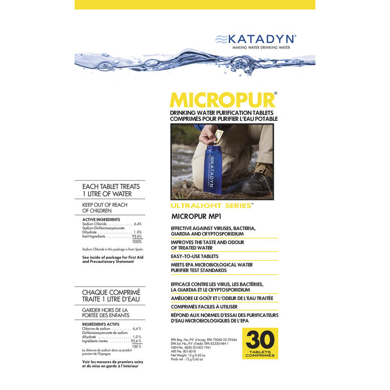 MicroPur MP1 Water Treatment Tablets