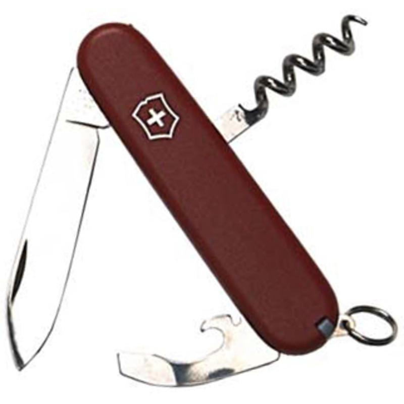 Couteau Porter à manche au fini mat