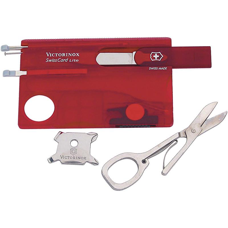 Carte-outil SwissCard Lite Rubis