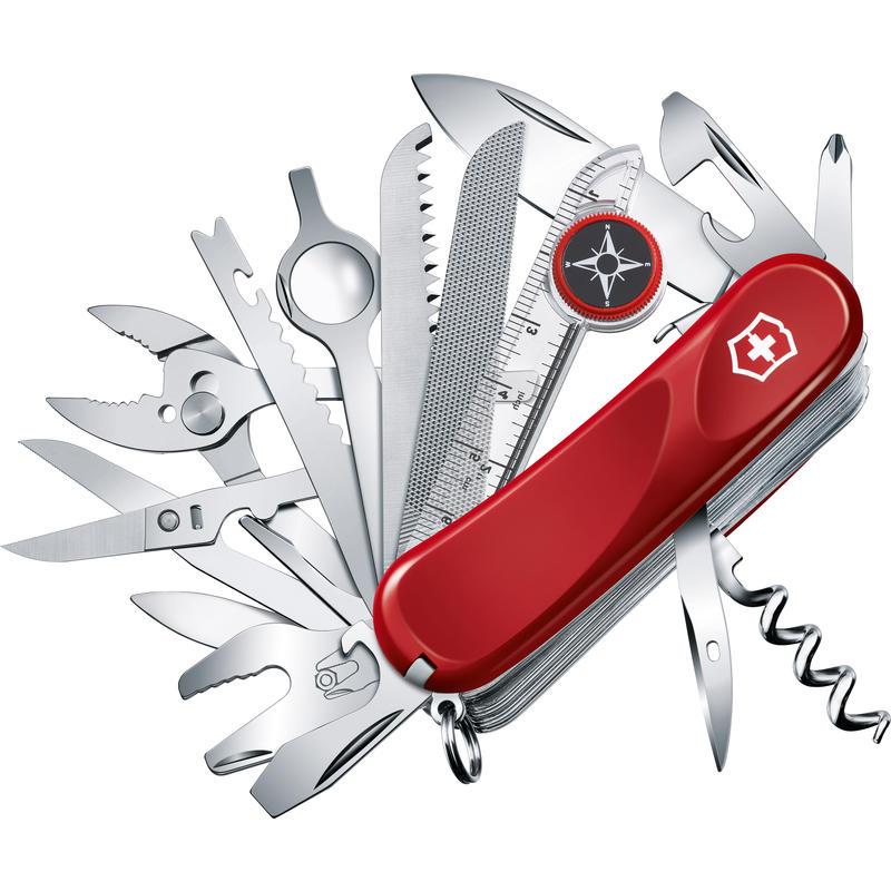 Couteau Evolution S54 Toolchest Plus Rouge