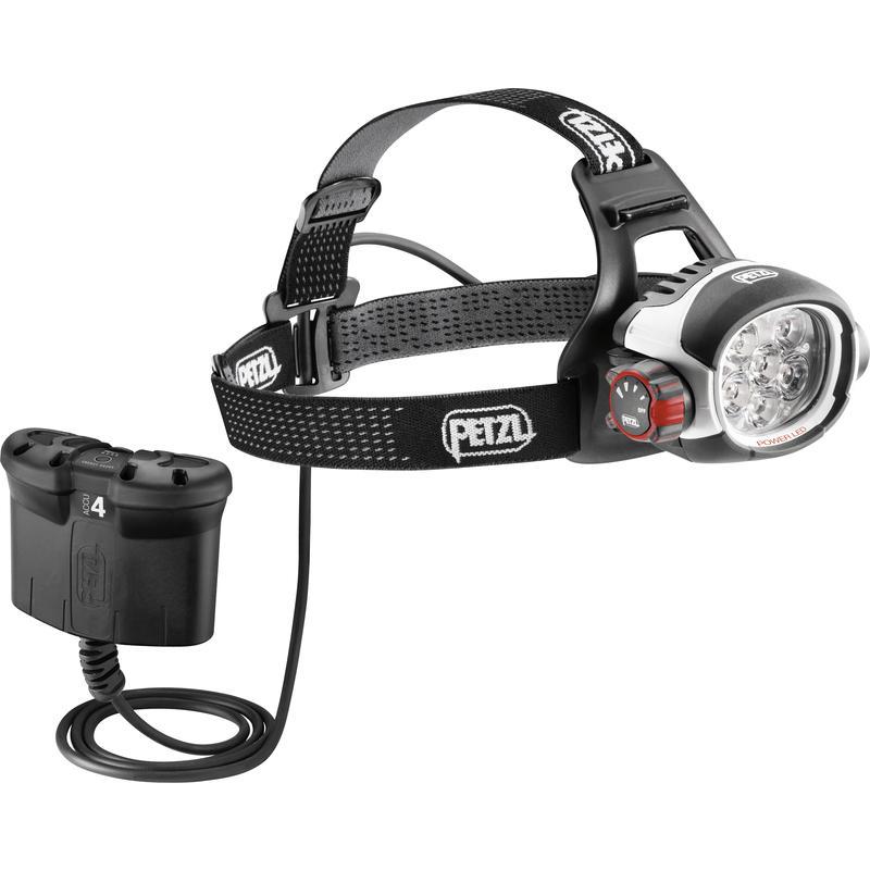 Lampe frontale Ultra Rush Belt Noir/Blanc