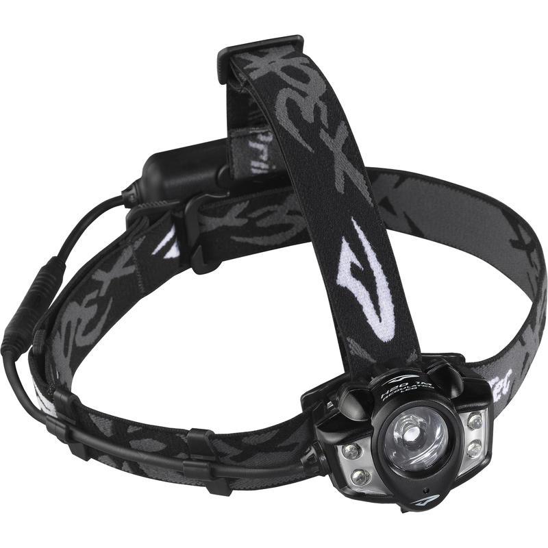 Lampe frontale rechargeable Apex Noir