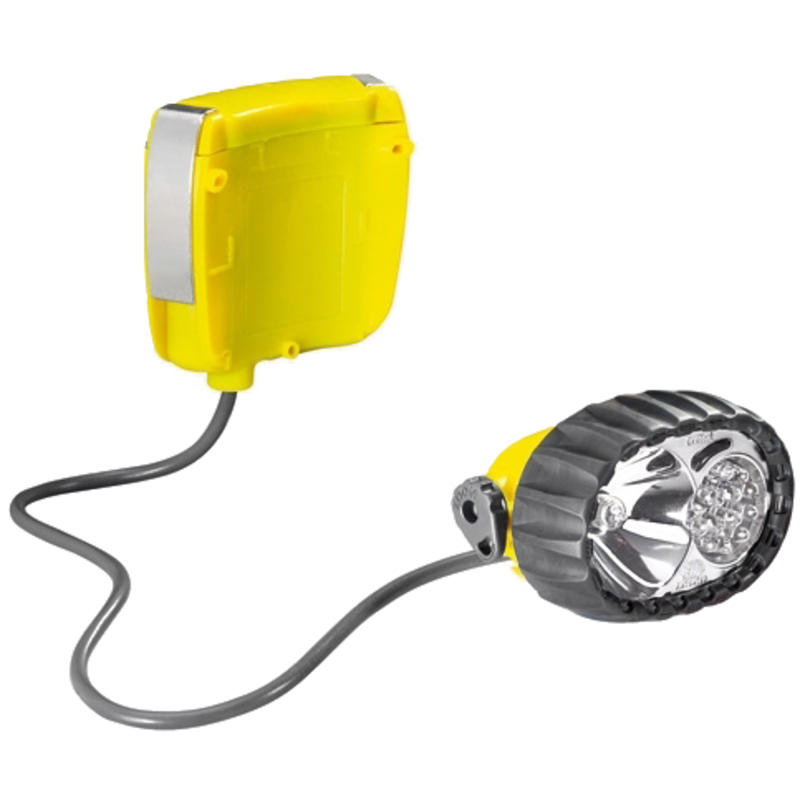 Lampe frontale Fixo Duo LED 14 Gris/Jaune