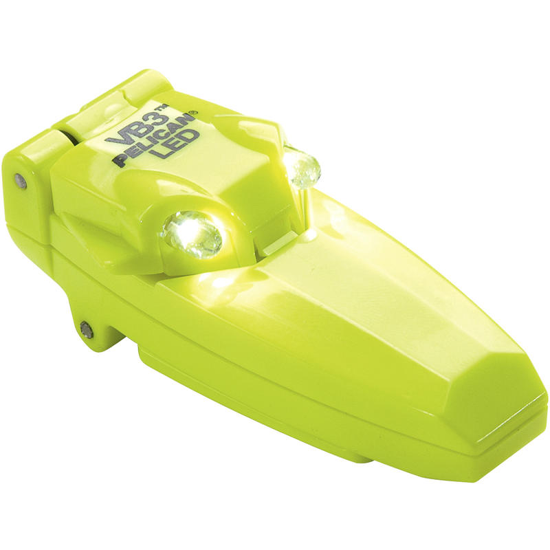VB3 2220 LED Flashlight Bright Yellow