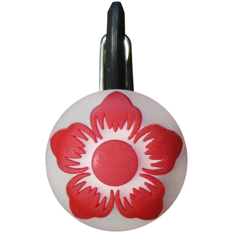 Lampe à DEL ClipLit Fleur sauvage rouge