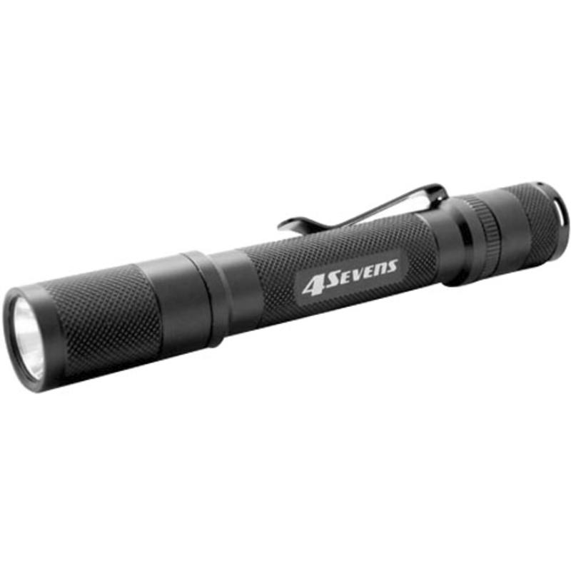 Quark QP2A LED Flashlight Black