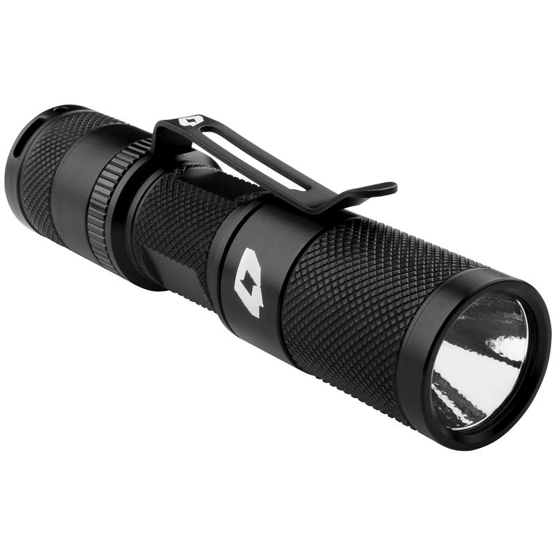 Quark QPA LED Flashlight Black