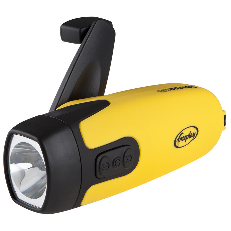 Sherpa LED Self-Powered Flashlight Yellow/Black