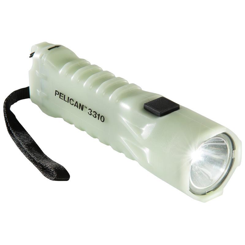 Lampe de poche à DEL photoluminescente 3310PL Vert tendre
