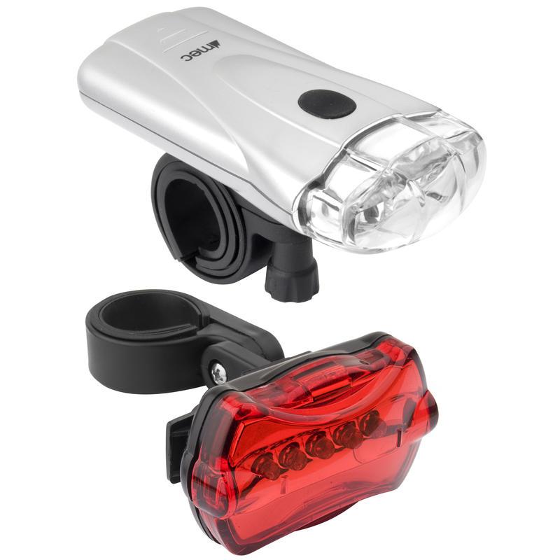 Gridlock LED Bicycle Light Set