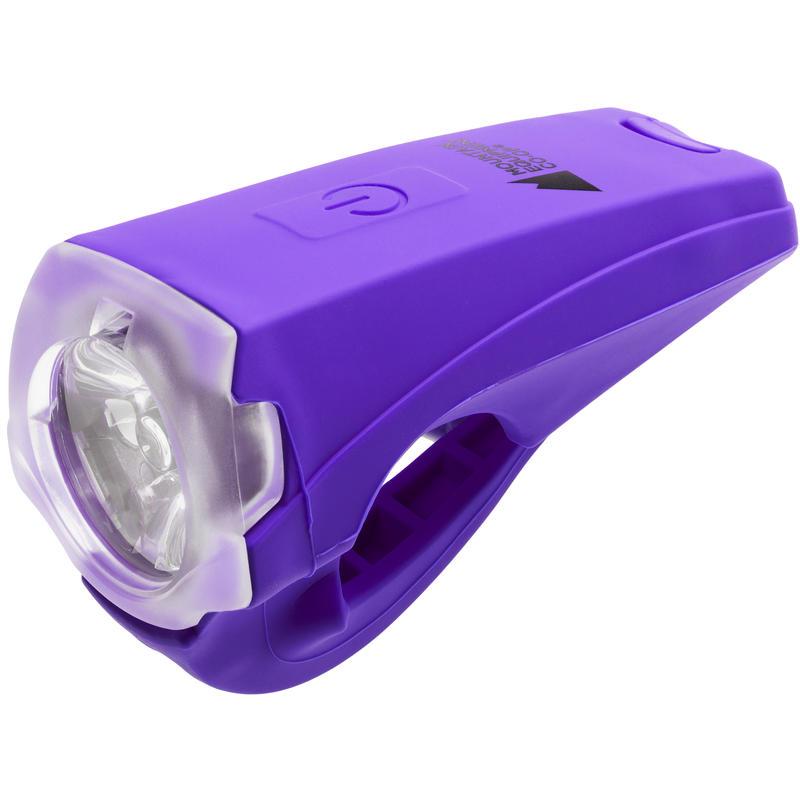 Quattro USB White LED Front Light Purple