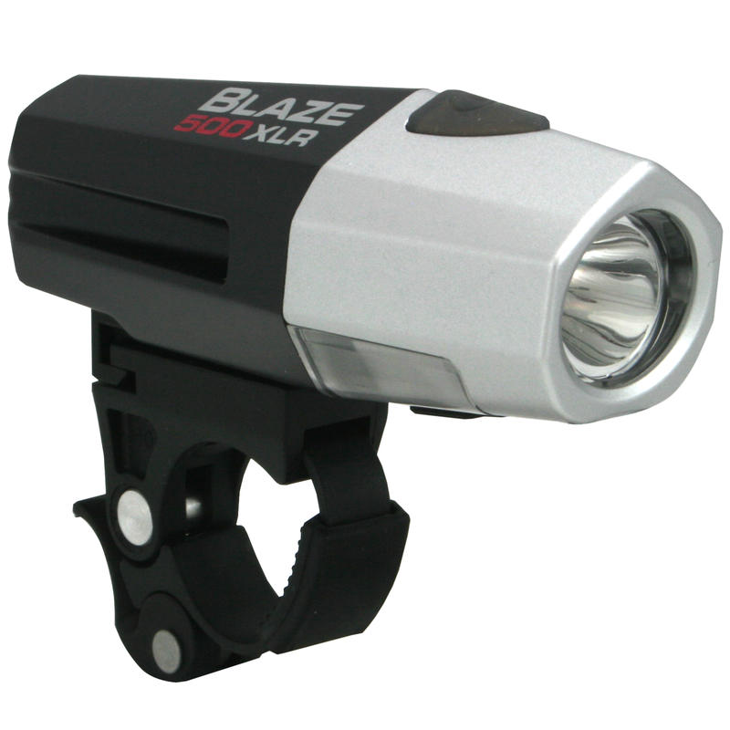 Blaze 500 XLR Front Light Silver/Black
